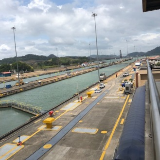 The locks (Pacific side)