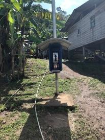 A random pay phone