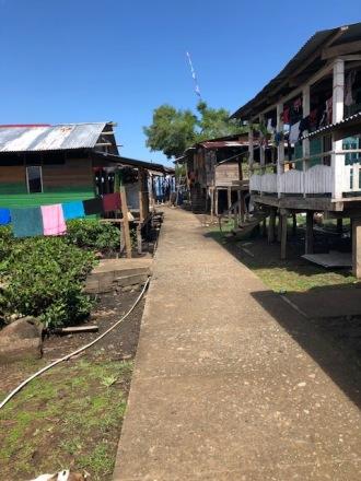 Village main walkway